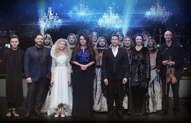Royal Christmas.Royal Christmas Gala 2017 Sarah Brightman Sarah Brightman